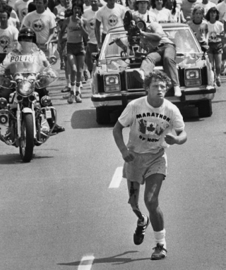 TERRY FOX IN LONDON
